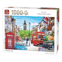 Puzzle 1000 pièces Le charme de Londres