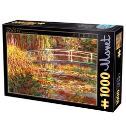 Puzzle 1000 pièces Claude Monet Le pont japonais
