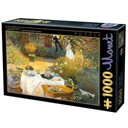 Puzzle 1000 pièces Monet - Le déjeuner