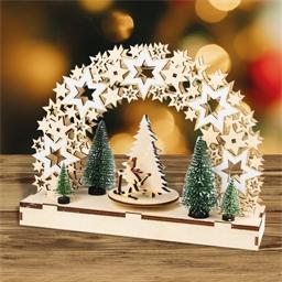 Kit arc de Noël mécanique Etoiles