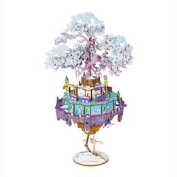 Puzzle boite musicale 3d Château dans le ciel