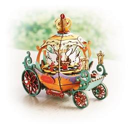 Puzzle boîte musicale 3D Carosse de Cendrillon