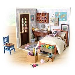 Maison miniature à créer Chambre