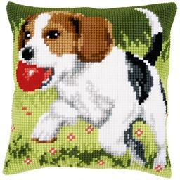 Kit coussin canevas Beagle