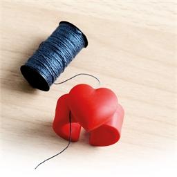 Bague coupe-fil cœur