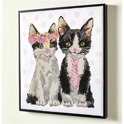 Kit perles à coller Couple de chats