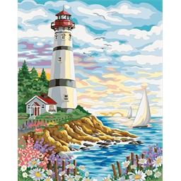 Peinture par numéros La maison du phare