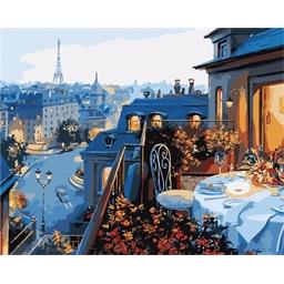 Peinture par numéros Dîner romantique