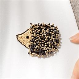 Kit broche perles à broder Hérisson