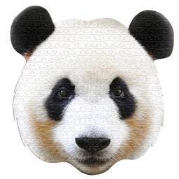 Puzzle forme Panda