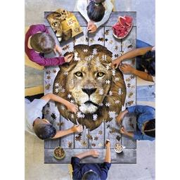 Puzzle forme Lion