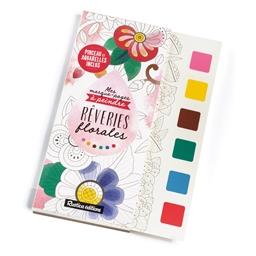 Marque-pages à peindre Rêveries florales