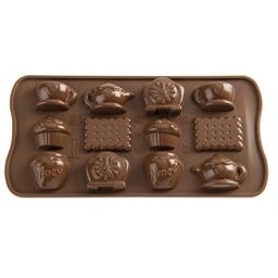 """Moule chocolat """"A l'heure du thé"""""""