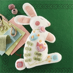Kit couture lapin en feutrine