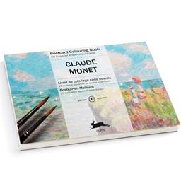 Cartes postales aquarelle Monet Monet