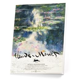 Album à colorier aquarelle Monet