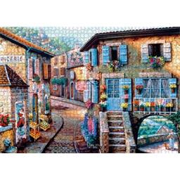 Puzzle 1000 pièces Le fleuriste