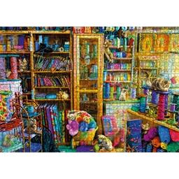 Puzzle 1000 pièces Le paradis des chats