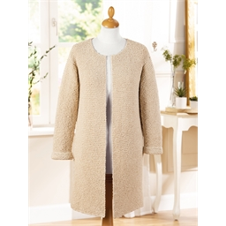 Fiche explicative Linen Swell Aran veste n°1