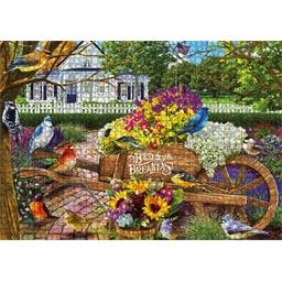 Puzzle 1000 pieces Auberge fleurie