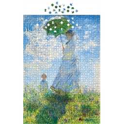 Puzzle 1000 pièces Femme à l'ombrelle