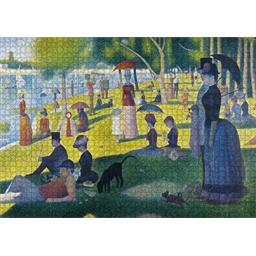 Puzzle 1000 pce Georges Seurat - Un dimanche après-midi à la Grande Jatte
