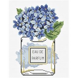Kit point croix Eau de parfum hortensia