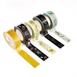 Set de 5 masking tape Sirène