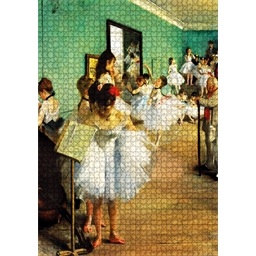 Puzzle 1000 pièces La classe de danse - Degas