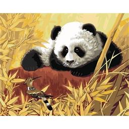 Peinture par numéros Panda