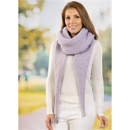 Fiche explicative Mega Wool Chunky écharpe longue n°1