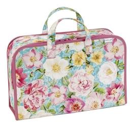 Boîte de rangement roses en fleurs