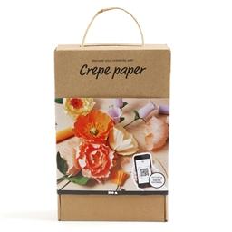 Kit fleurs papier crepon