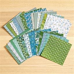 Set de papier décor végétal