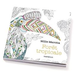 Petit livre de coloriages-forêt tropicale