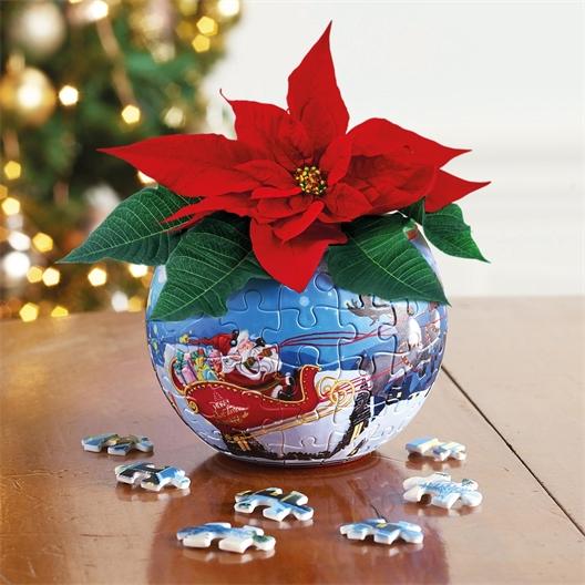 Puzzle pot 3D Noël