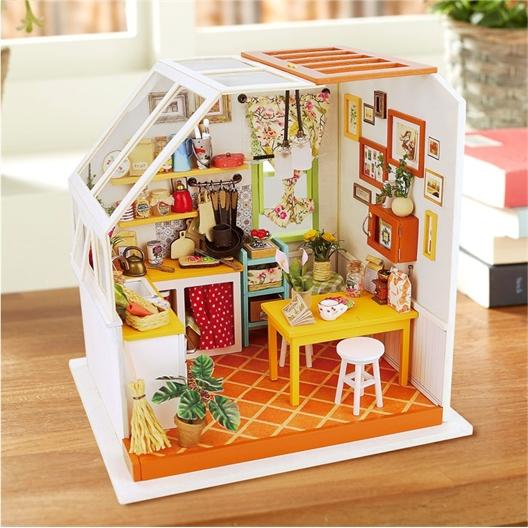 Maison miniature à créer Cuisine