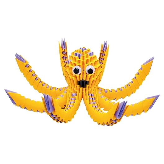 Kit origami 3D Pieuvre