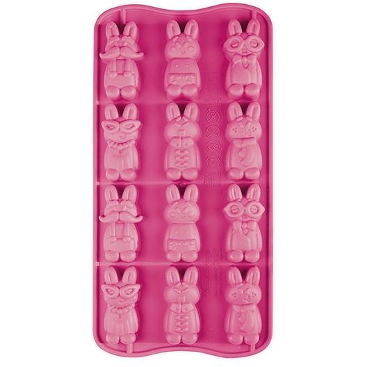 Moule silicone drôles de lapins