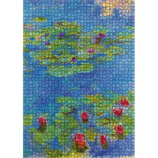 Puzzle 1000 pieces Claude Monet - Les nymphéas