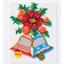 Mosaïc art Décorations de Noël