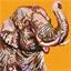 Mosaïc Art XL : Eléphant