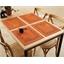 Lot de 4 sets de table à broder Savane