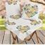Cœur fleuri à colorier : Chemin de table - Surnappe - Coussins
