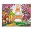 Kit perles à coller Tour Eiffel au printemps