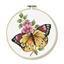 Kit point de croix Papillon
