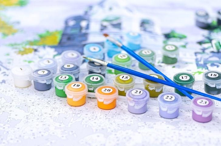 Peinture par numéros