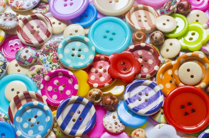 Boutons et broches