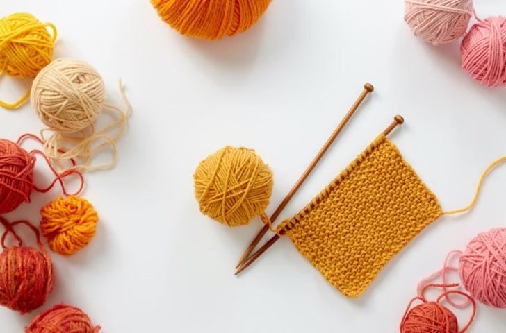 Aiguilles tricot et crochets